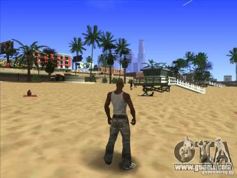 ENBseies v 0.075 for the weak computers for GTA San Andreas