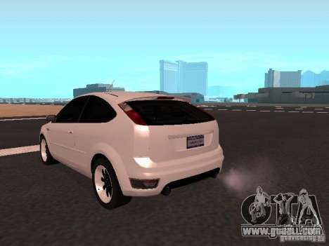 Ford Focus II for GTA San Andreas back left view