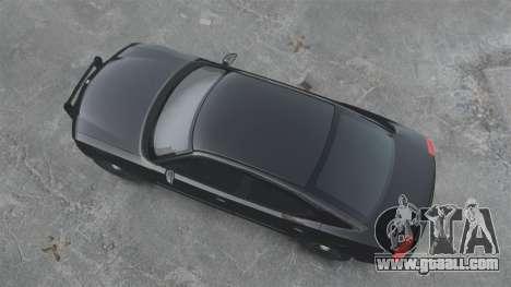 Dodge Charger RT Hemi FBI 2007 for GTA 4 back left view