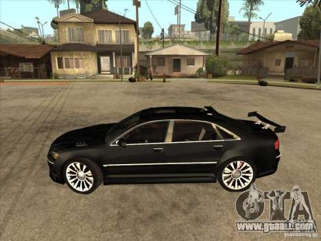 Audi A8 Tuned for GTA San Andreas left view