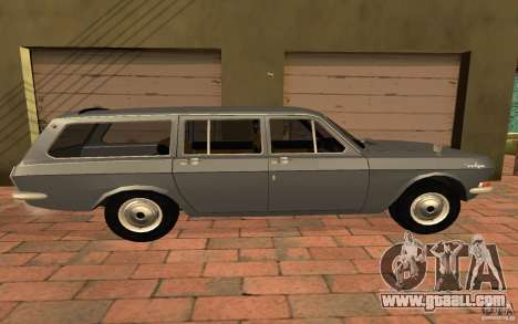 GAZ 2402 for GTA San Andreas back left view