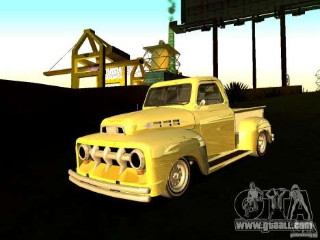 Ford Pick Up Custom 1951 LowRider for GTA San Andreas