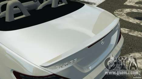 Mercedes-Benz SLK 2012 v1.0 [RIV] for GTA 4 interior