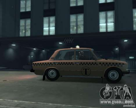 VAZ 2106 Taxi for GTA 4 left view