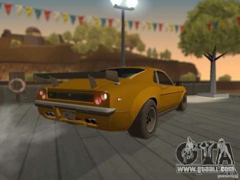 SPEEDEVIL from FlatOut 2 for GTA San Andreas back left view
