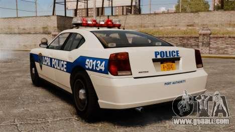 Police Buffalo ELS for GTA 4 back left view