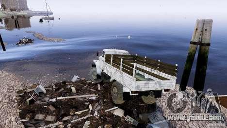 Trialovskaâ route for GTA 4 second screenshot