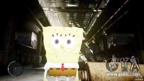Spongebob for GTA 4 third screenshot