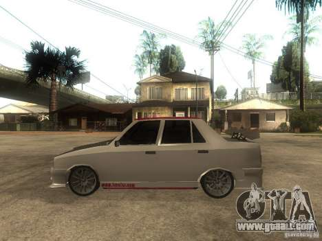 Renault 9 GTD for GTA San Andreas left view