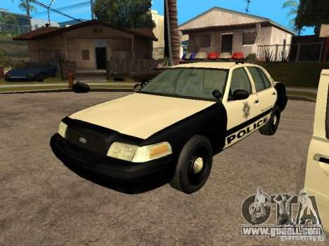 Ford Crown Victoria 2003 Police for GTA San Andreas