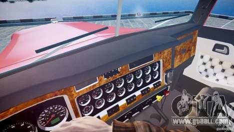 Kenworth W900 v1.0 for GTA 4 side view