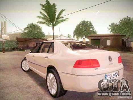Volkswagen Phaeton 2011 for GTA San Andreas left view