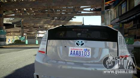 Toyota Prius III for GTA 4 right view