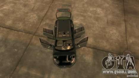 Volkswagen Tiguan for GTA 4 inner view