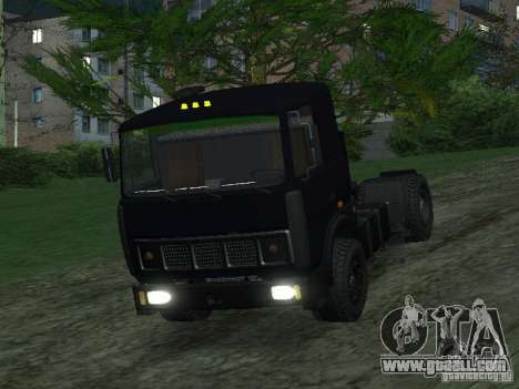 MAZ 5432 for GTA San Andreas back left view