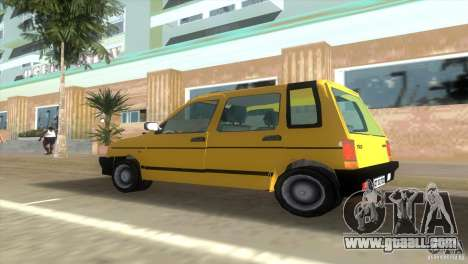 Daewoo Tico for GTA Vice City back left view