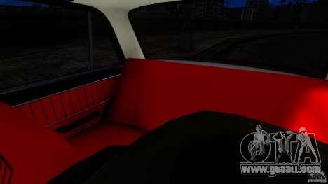 VAZ 2101 for GTA 4 inner view