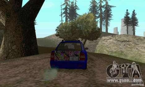 LADA 2170 JDM for GTA San Andreas inner view