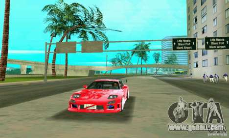 Mazda RX7 Charge-Speed for GTA Vice City side view