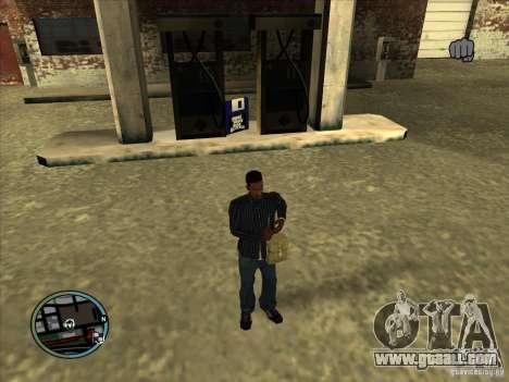 SA IV WEAPON SCROLL 2.0 for GTA San Andreas third screenshot