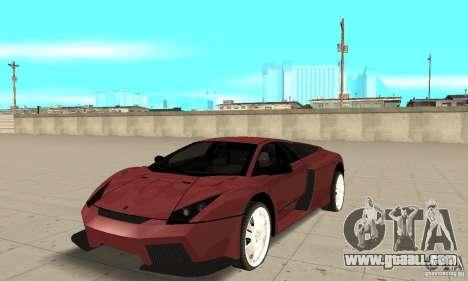 Lamborghini Murcielago Tuned for GTA San Andreas