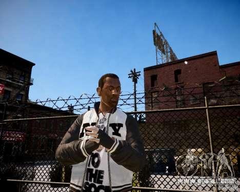 Niko - Cj for GTA 4 second screenshot