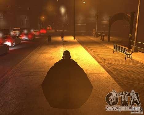 Dart Vader for GTA 4 forth screenshot
