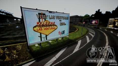 Realistic Airport Billboard for GTA 4 fifth screenshot
