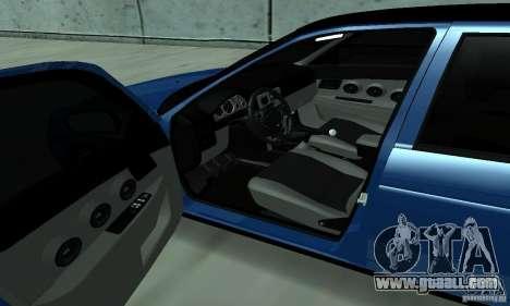 Lada Priora 2012 for GTA San Andreas right view