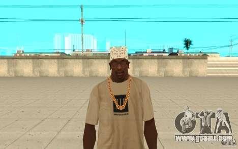 Bandana white for GTA San Andreas