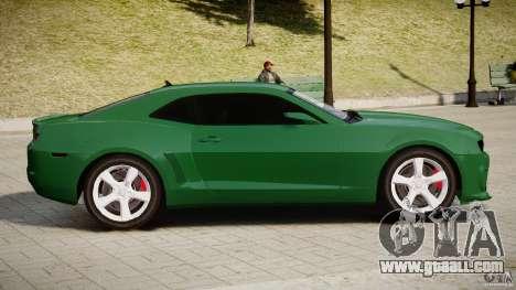 Chevrolet Camaro SS 2009 v2.0 for GTA 4 back left view