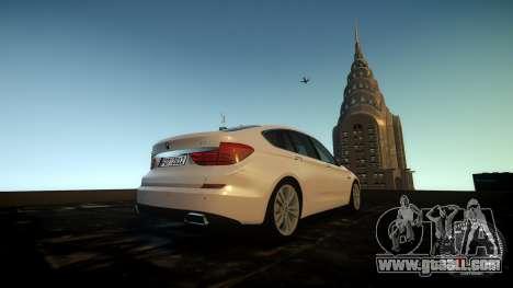 BMW GT F07 2012 GranTurismo for GTA 4 inner view