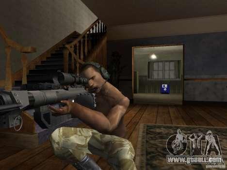 Hats of Call of Duty 4: Modern Warfare for GTA San Andreas sixth screenshot