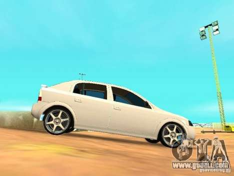 Chevrolet Astra Hatch 2010 for GTA San Andreas left view