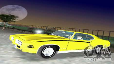 Pontiac GTO The Judge 1969 for GTA Vice City