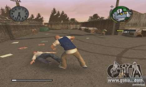 Boot clip art Bully Scholarship Edition for GTA San Andreas third screenshot