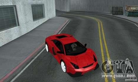 Lamborghini Murcielago Tuned for GTA San Andreas inner view