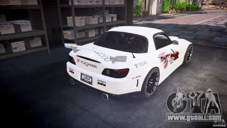 Honda S2000 Tuning 2002 Skin 3 for annealing for GTA 4 wheels