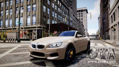 BMW M6 2013 for GTA 4