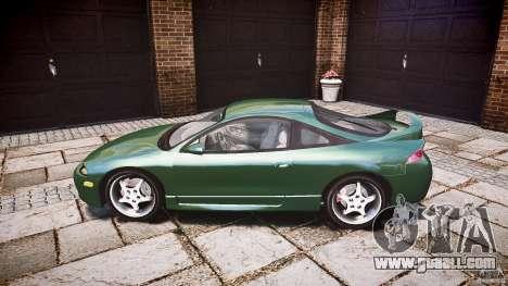 Mitsubishi Eclipse 1998 for GTA 4 left view