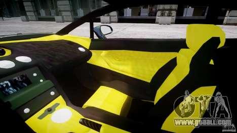 Lamborghini Gallardo for GTA 4 inner view