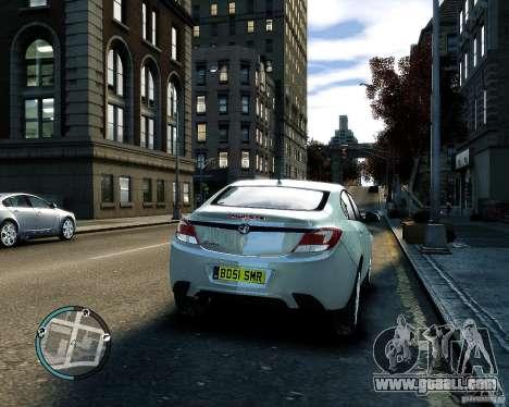 Vauxhall Insignia v1.0 for GTA 4 inner view