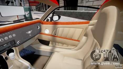Morgan Aero SS v1.0 for GTA 4 inner view