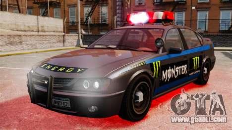 Police Monster Energy for GTA 4
