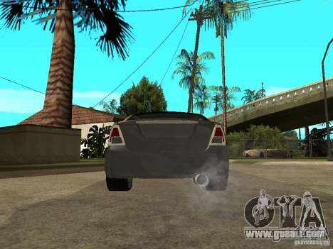 Ford Fusion 2008 Dub for GTA San Andreas back left view