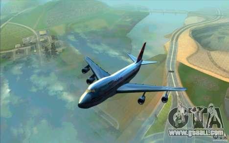 B-747 American Airlines Skin for GTA San Andreas