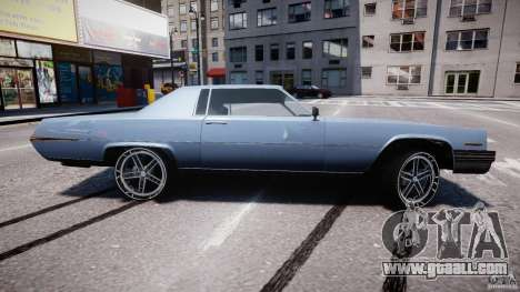 Manana Tuned for GTA 4 bottom view
