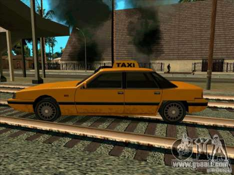 Intruder Taxi for GTA San Andreas left view