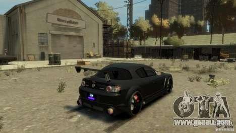 MAZDA RX8 for GTA 4 left view