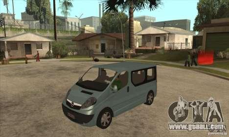 Opel Vivaro for GTA San Andreas
